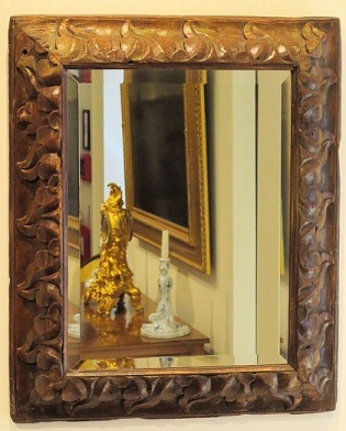 Stillwell House Antiques - FRENCH TRUMEAU MIRROR ,Mirrors, Frames ...